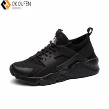 OKOUFEN casual shoes New Men Superstar Brand Designer Tenis Masculino Adulto Huarache Air Casual Men s