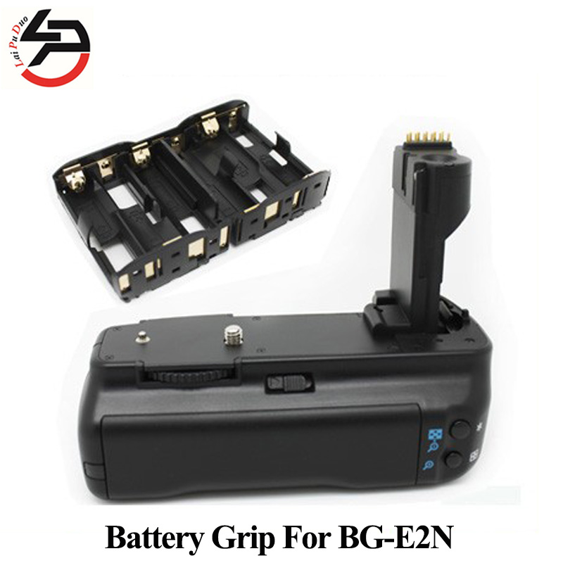 DSTE BG-E2N Battery Grip BP-511 For Canon For EOS 50D 40D 20D 30D SLR Digital Camera bp 511 bp511 camera battery 1x charger for canon eos 30d 20d 10d 300d d60