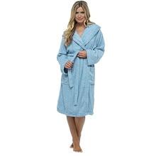 MUQGEW bathrobe women warm robe femme Women Winter Plush Lengthened Shawl Bathrobe Home Clothes Long Sleeved