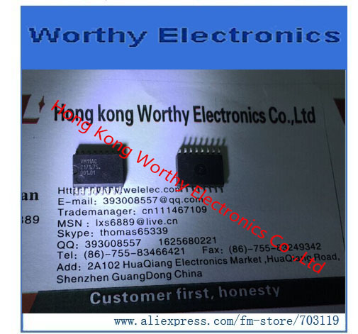 Free shiping  10PCS/LOT   VM11AC  IC    SOP   2171.75.001.01-in Integrated Circuits from Electronic Components & Supplies