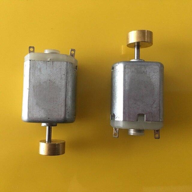 2pcs Sale K975Y Model 130 Micro Vibration Motor Under 3V 1.28A Brass Head DIY Model Making PARTS Free Europe Shipping
