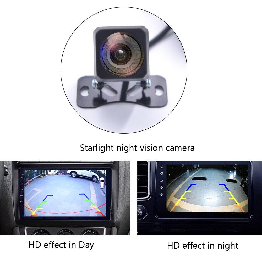 Новая Автомобильная камера заднего вида, высокая чувствительность, звездный свет, камера ночного видения 1280*720 HD камера для парковки автомо...