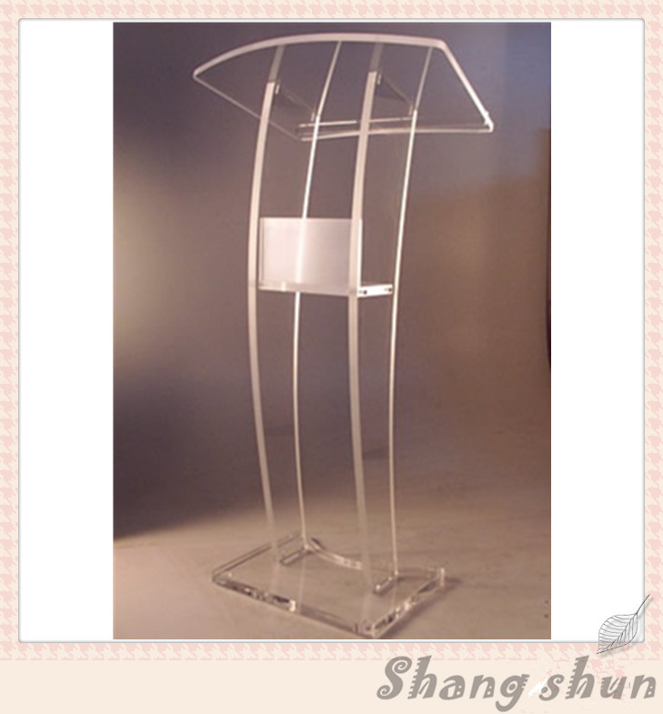 Teaching Podium Cheap Acrylic Lectern Acrylic Church