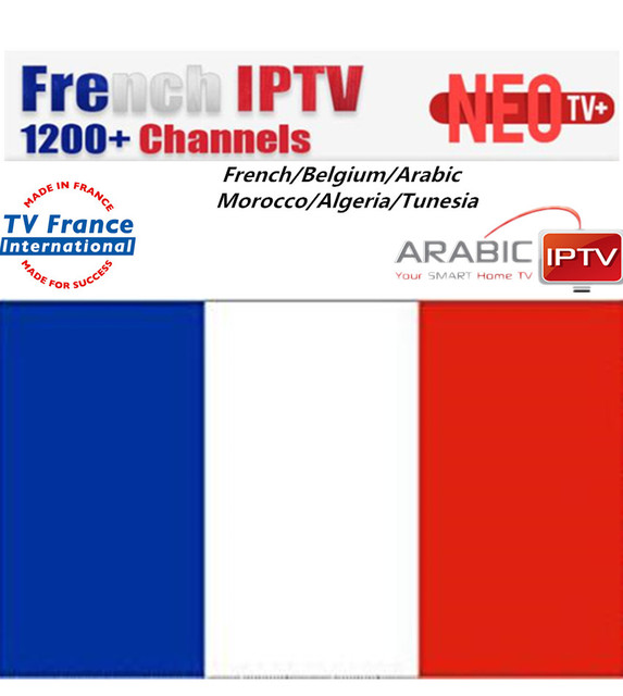 US $8 9 11% OFF|NEOTV NEOPLUS NEOPlus Pro IPTV 1300+TV French Europe Arabic  Belgium QHDTV IPTV subscription code LiveTV M3U Android Smart TV-in