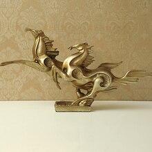 Подарки на удачу домашний Европейский Декор Фигурка жираф и девушка украшение животное Гостиная Офис