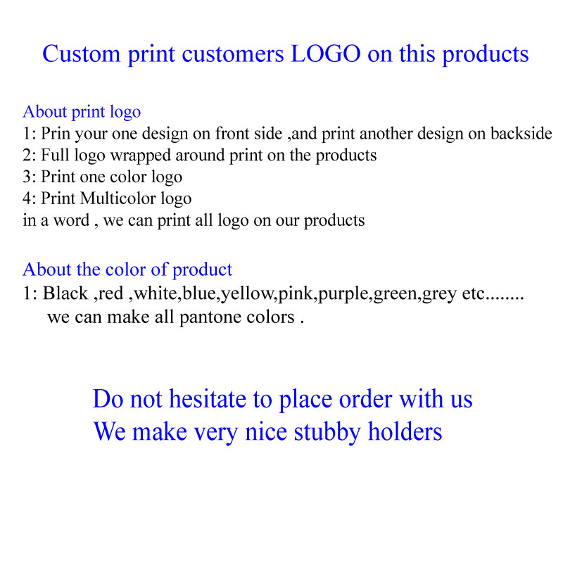 100pcs Custom Neoprene Stubby Holder With Customer Logo Beer Bottle Can Cooler Picnic Bags Sleeve Wedding Gift Customized in Cooler Bags from Luggage Bags