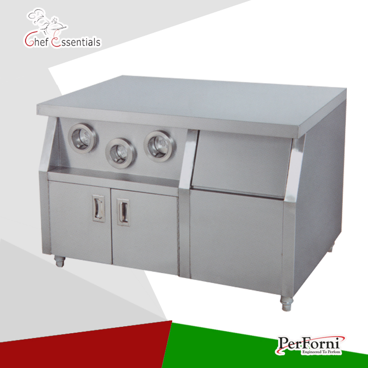 PKJG-WS01 Fast Food Equipment for Commercial Center Island nigella express good food fast