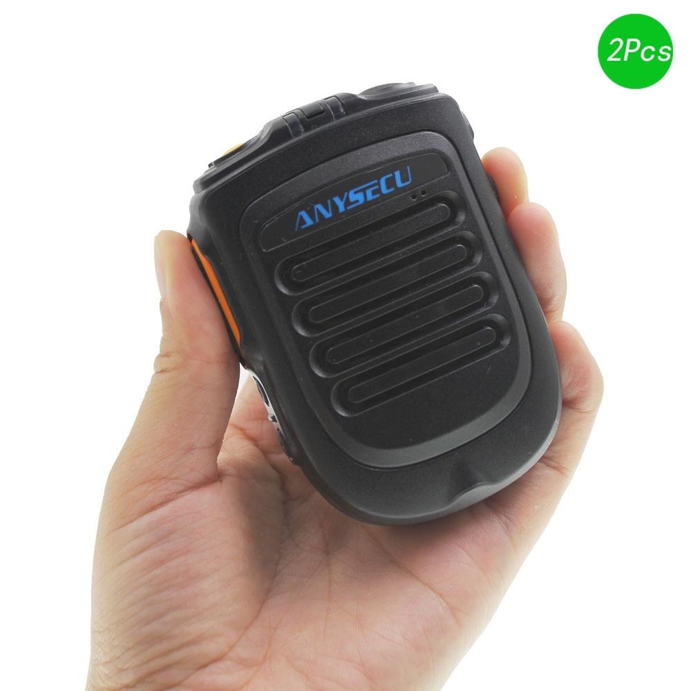 Version 4.2 Bluetooth Microphone IP54 Waterproof For Android Network Radio Walkie Talkie Phone Work Witn Zello PTT