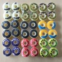 2016 4pcs Set Pro 52mm Skateboard Wheels Element Wheels For Mini Cruiser Deck Yellow PU Ruedas