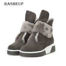 Фотография RASMEUP 100% Wool Fur Women