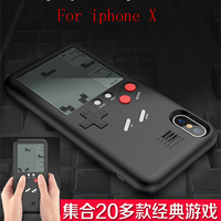 MLR GB Gameboy Tetris Phone Cases For Iphone X Play Blokus Game Console Cover Protection For