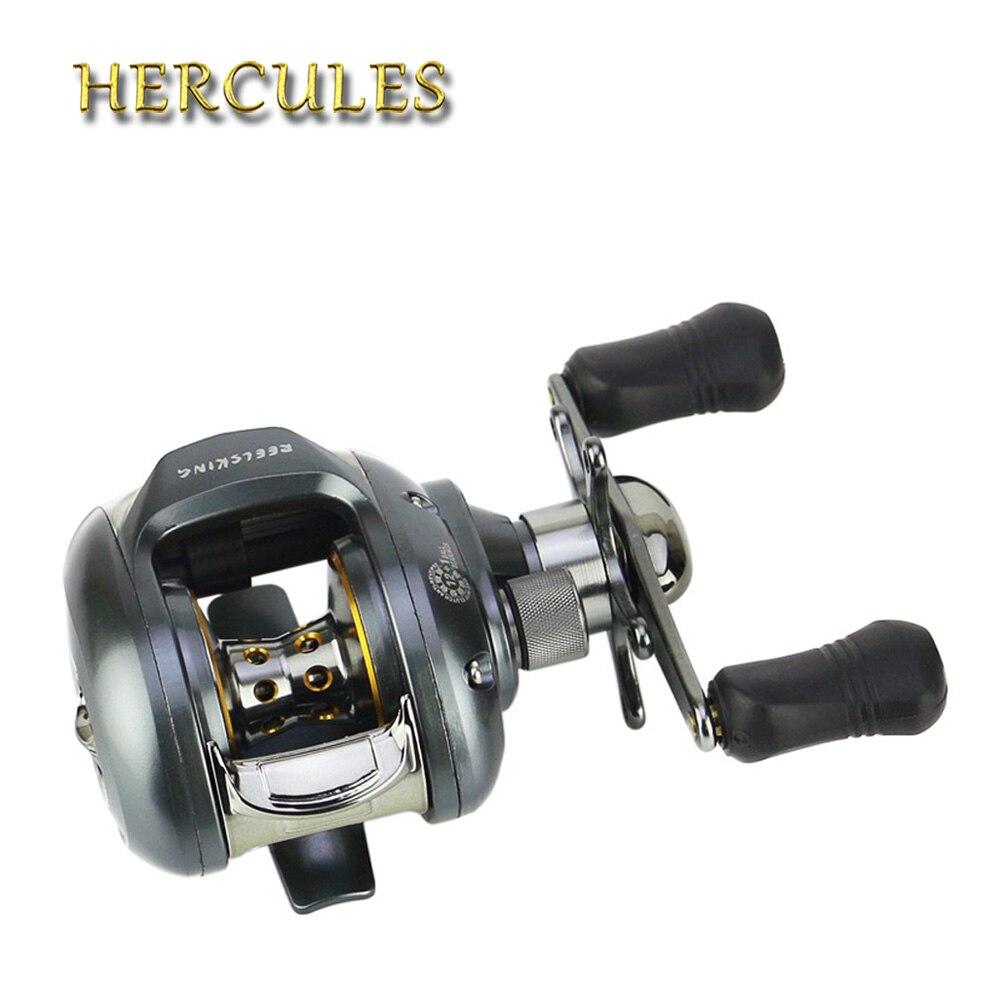 Hercules pêche Carretilha pêche à la mouche moulinet Pesca Vissen Olta Makaral Baitcasting 12 + 1BB 6.2: 1 moulinet de carpe