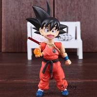 SHF S.H Figuarts S.H.Figuarts Dragon Ball Figure Goku & Somersault Cloud Son Gokou Childhood Ver. Goku SH Figuarts PVC Toys