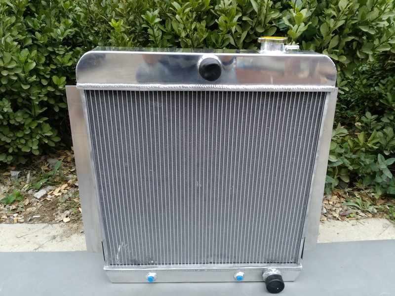 Hot Selling ALUMINUM RADIATOR For CHEVY PICK UP TRUCK V8 1955 1956 1957 1958 1959