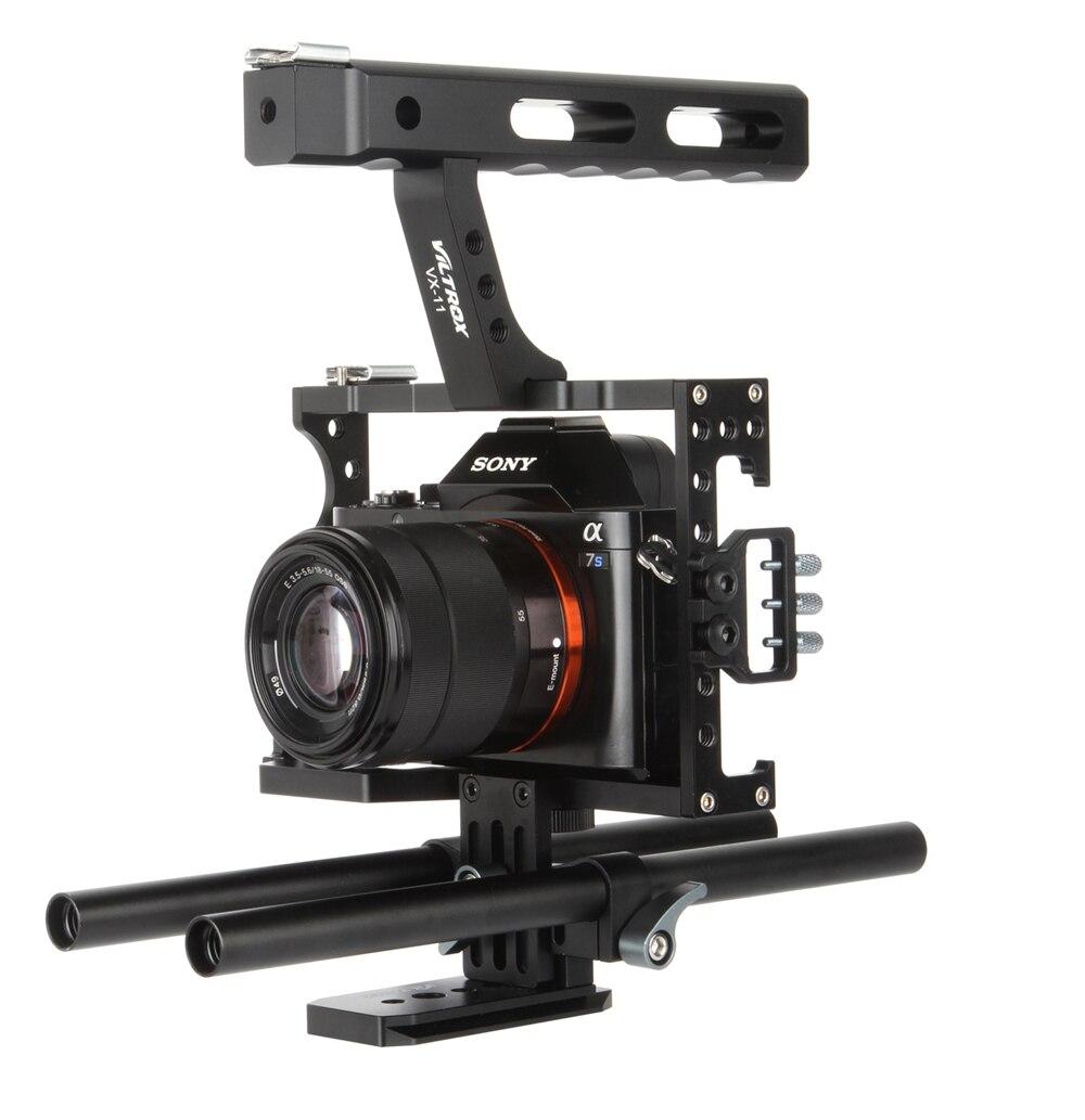 15 მმ Rod Rig DSLR ვიდეოკლიპის - კამერა და ფოტო - ფოტო 6