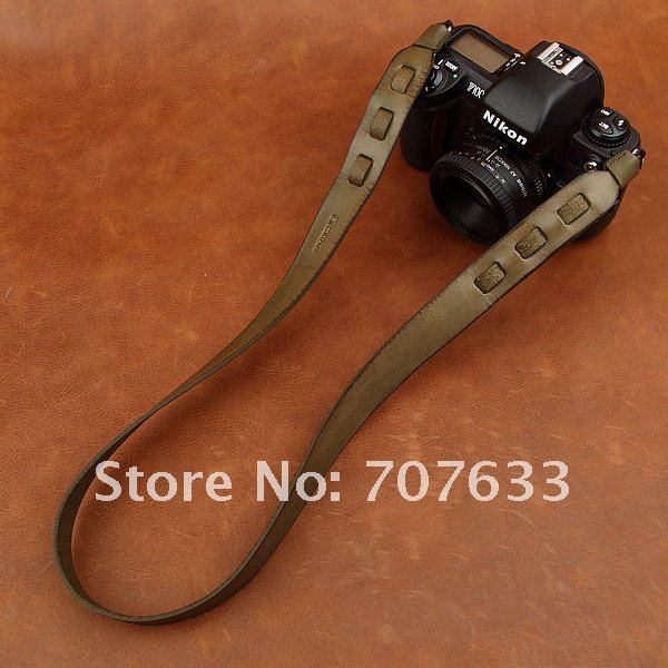 first layer of cowhide leather strap universal camera strap CAM2407