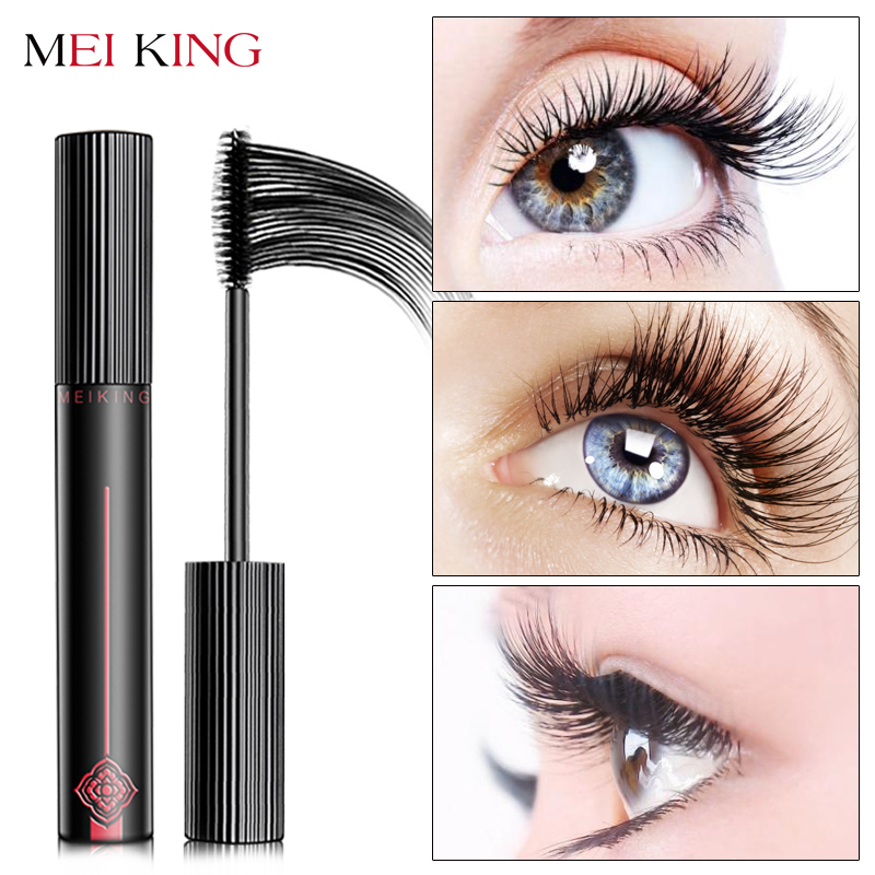 MEIKING Mascara Trucco Waterproof Allungamento Cosmetici Mascara Signore Donne Ciglia False Eye Make Up Mascara maquiagem