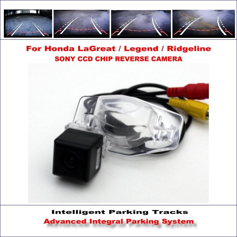 Câmara de marcha para honda lagreat intelligentized/legenda/ridgeline Rear View Back Up/580 TV Linhas de Orientação Dinâmica faixas