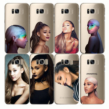 Soft Silicon Phone Cases Cover tpu Ariana Grande AG Rainbow Sweetener  for Samsung S8 S9 S6 S7 edge plus Note5 Note8