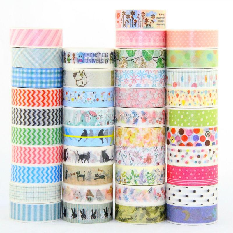 10x China Wholesale Mt Masking Washi Japanese Paper Diy