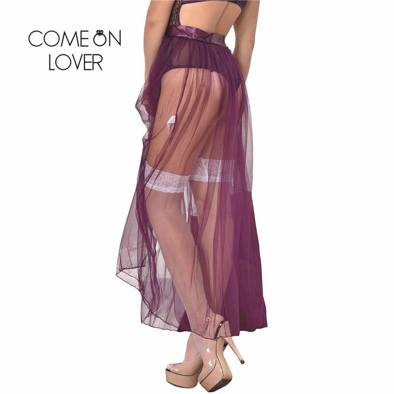 7a5d644ea03e4 RI80272 Sexy Skirts For Women Floor Length With Bow See Through Women Skirt  Plus Size Dignity