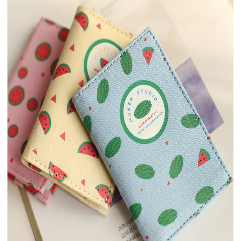 New Fashion lady lovely watermelon clip business card holder bank ...