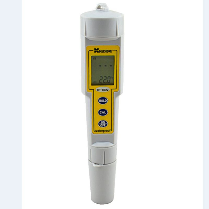Kedida Pen Type LCD ORP Meter 1200mV Digital ORP Tester Pocket Waterproof Oxidation Reduction Potential ATC Data Hold Function automatic calibration digital waterproof orp meter portable pen tester redox meter lcd backlight display