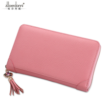 Zuoerdanni zipper card bag Fashion  Large capacity leather women business card holder women's credit card package A917