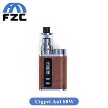 เดิมIJOY Cigpet Ant 80วัตต์TC Starter Kitกับ80วัตต์Vape Mods TCกล่องสมัยชุดAntเครื่องฉีดน้ำบุหรี่อิเล็กทรอนิกส์Vaporizer