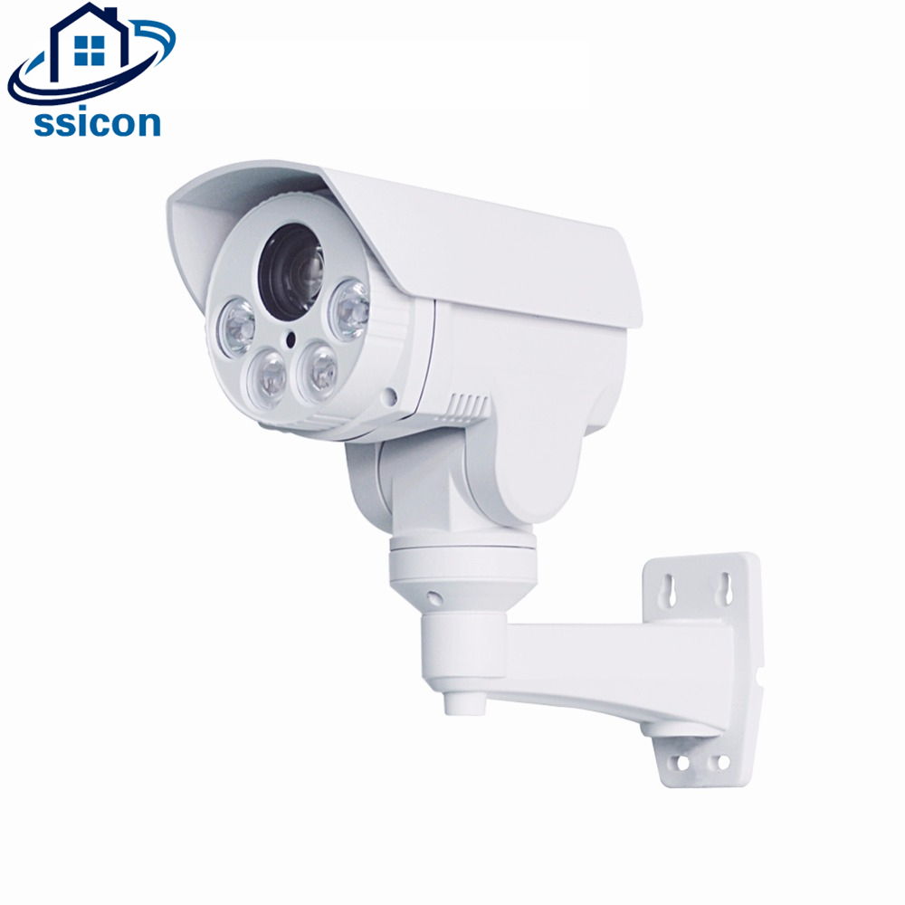 SSICON 10X Optical Zoom IR Distance 80M 1080P IP66 Mini PTZ Bullet IP Camera Outdoor Support Pan/Tilt/Zoom POE IP Camera Onvif built in poe optional ambarella cpu sony imx222 full hd1080p 2 megapixel outdoor bullet 10x optical zoom mini ip ptz camera