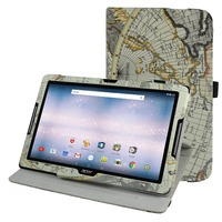 360 Degree Rotary Rotating Leather Cute Case Cover For 10 1 Acer Iconia One 10 B3