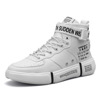 Fall Winter New Hip Hop High Top Black Red White Shoe Male Men's Shoes Classic Shoe Sneakers For Men Designer Brand Sneakers