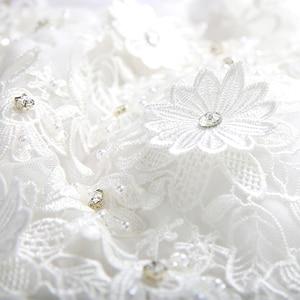 Image 4 - Wit Zweet Knielengte Multilayer Lace Lady Girl Vrouwen Prinses Bruidsmeisje Banket Feestjurk Jurk