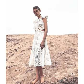 2019 New arrive white lace women dress - DISCOUNT ITEM  0% OFF All Category