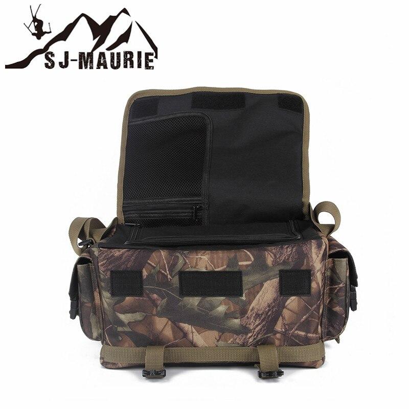 Sac de ceinture de chasse en plein air Bolsos Militares sac de poche tactique Molle sac à dos imperméable randonnée Camping épaule - 6