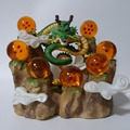 Dragon Ball Z Figuras de Ação Dragão Shenron Brinquedos DBZ Dragon Ball Z Anime Collectible Modelo Com Montanha Bolas De Cristal