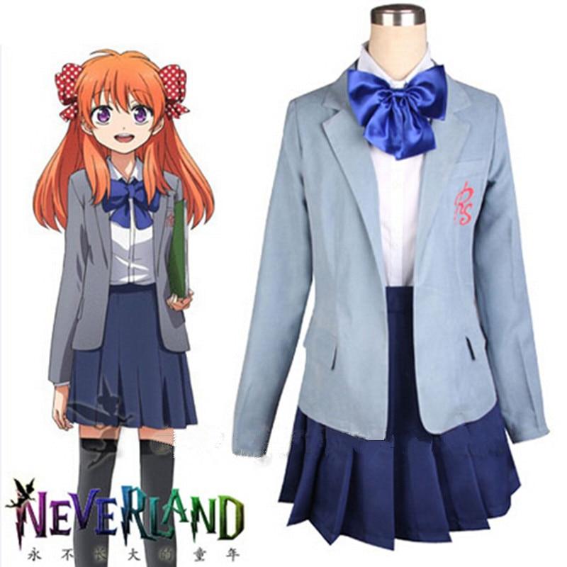 Hot Anime Gekkan Shoujo Nozaki-kun Cosplay Sakura Chiyo Novelty School Uniform Funny Sexy Halloween Costume For Women MZ001
