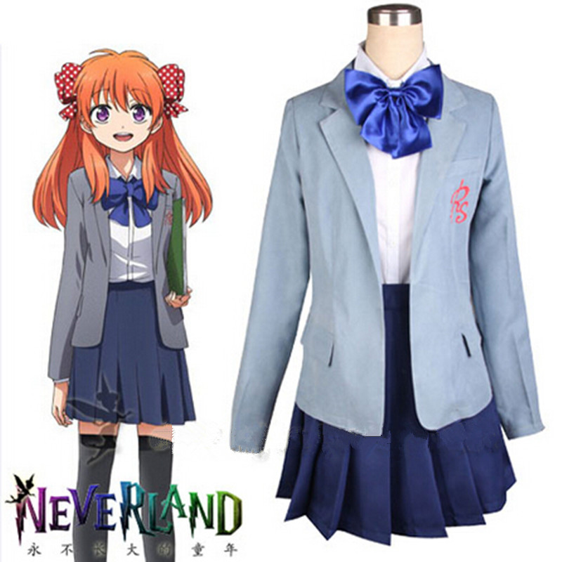 Hot Anime Gekkan Shoujo Nozaki kun Cosplay Sakura Chiyo Novelty School Uniform Funny Sexy Halloween Costume For Women MZ001