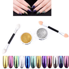 TOMTOSH New/3D Effect Cat Eye Magnet Magic Mirror Powder Dust UV Gel Polish Nail Art Glitter Pigment DIY Manicure Tools