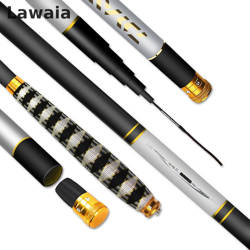 Lawaia Fishing Rods Pole Pole Fishing Rod Fishing Rods Ultra-light Super-hard 4.5m Carbon Crucible Carpets Fishing Gear Set аксессуар угольный фильтр timberk tms fl70 cr для tap fl70 sf