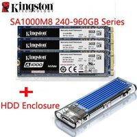 Original Kingston A1000 NVMe M.2 2280 SATA SSD 240GB 480GB 960GB Internal Solid State Drive Hard Disk SFF For PC Notebook