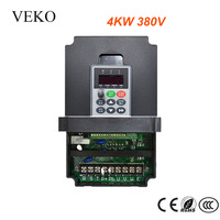 3KW/4KW 380V VFD Frequency Inverter 3 Phase Input 3Phase Triphase Output Motor Speed Control Frequency Drive Converter 50/60Hz