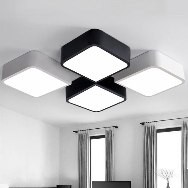 Buy creative ceiling light lamparas de - Lamparas de techo dormitorio ...