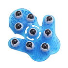 Roller Ball Body Massage Glove Anti-Cellulite Muscle Pain Relief Relax Massager For Neck Back Shoulder Buttocks Hot Sale