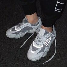 2019 New Mesh Men Casual Shoes Lac-up Men Shoes Lightweight Comfortable Breathable Walking Sneakers Tenis Feminino Zapatos JN-22 jn 041205jn