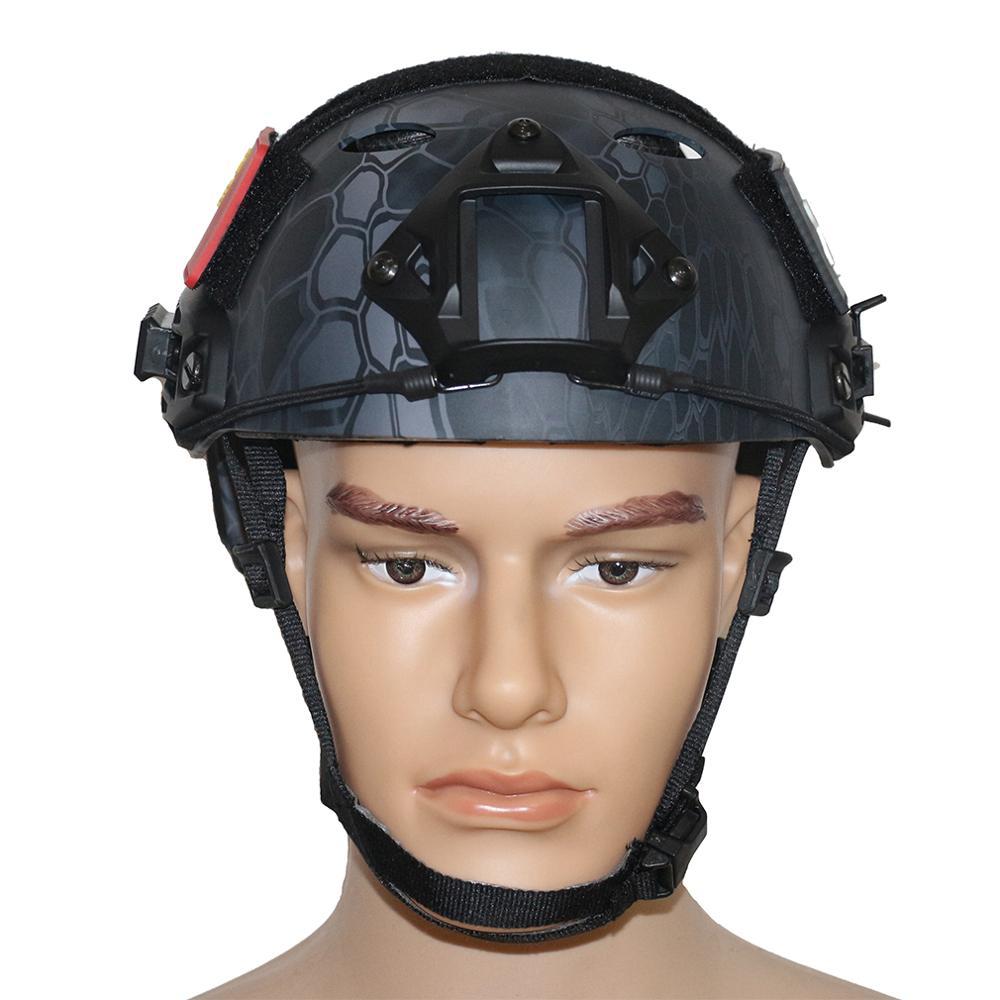 ФОТО Outdoor Sport Protective Helmet Lightweigh Military Tactical Safety Helmet PJ Type Base Jump CS Sport War Game Protective Helmet