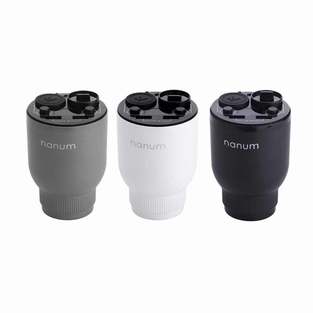 Многофункциональный Автомобильный увлажнитель воздуха двойное зарядное устройство USB Волшебная чашка Авто очиститель воздуха Арома-диффузор ароматерапия автомобильный прикуриватель
