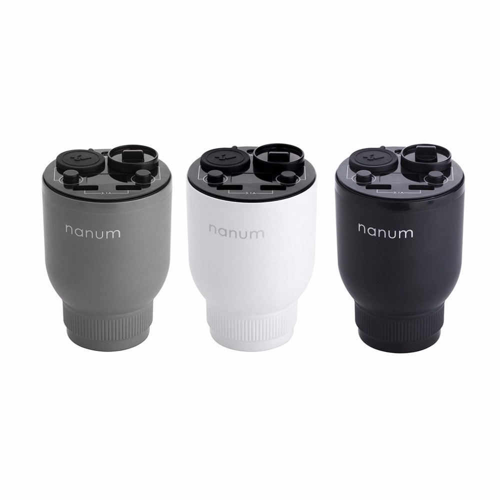Multifunction Car Air Humidifier Dual USB Charger Magic Cup Auto Air Purifier Aroma Diffuser Aromatherapy Car Cigarette Lighter bc 201 multifunctional car cigarette lighter powered air purifier black silver