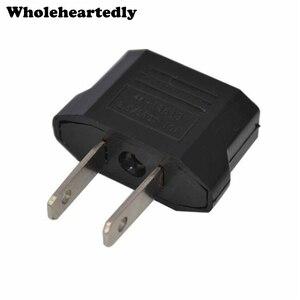 Common Universal AC 250V 10A EURO EU to US USA Travel Power Plug Adapter Adaptor Converter Travel Conversion Plug