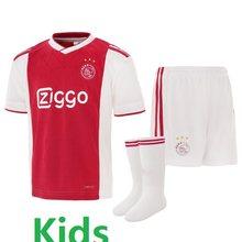 55da9e94299 18 19 ajax soccer jerseys kids shirt high quality 2018 2019 2020 home away  black red